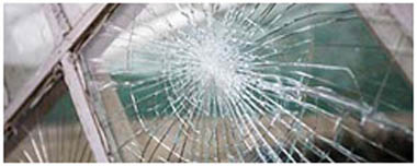 Immingham Smashed Glass